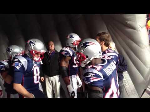 New England Patriots 2011 Pre-Game