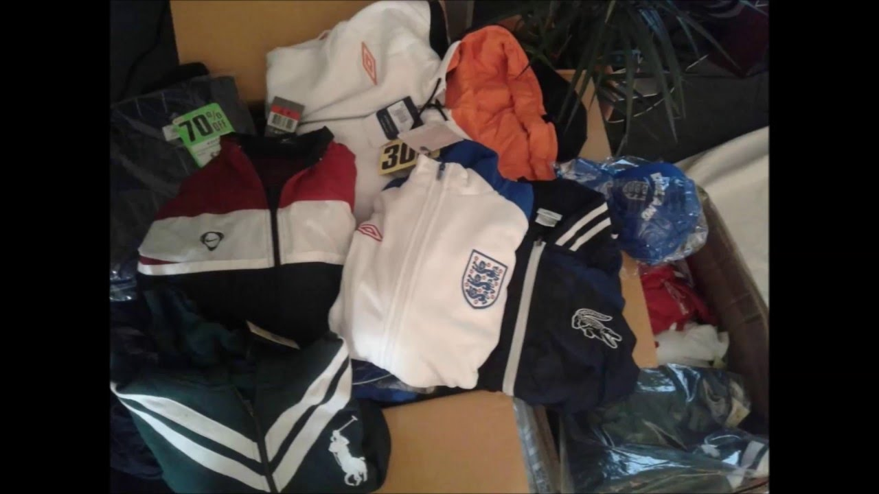 Wholesale Job Lot Brand Name Sports Clothing Wholesale Umbro ...