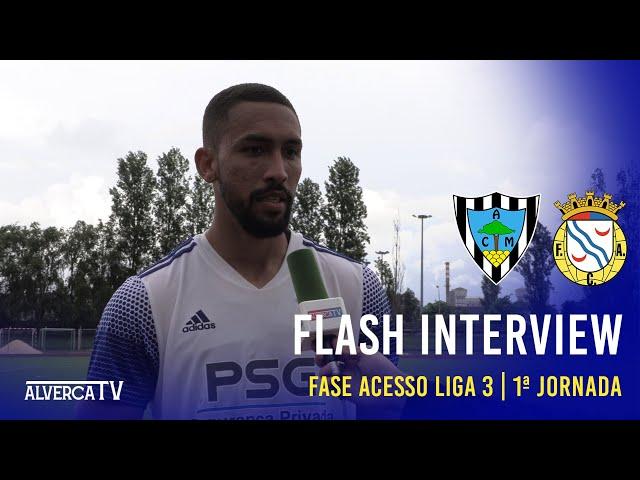 AC Marinhanense 0 - 3 FC Alverca | Flash Interview