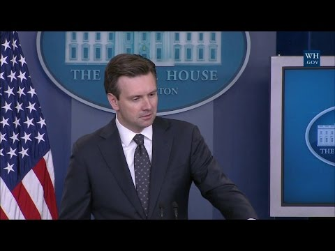 8/3/16: White House Press Briefing