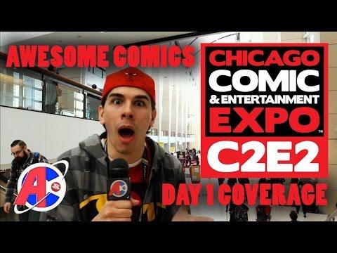 C2E2 Coverage March 18th, 2016 - Awesome Comics