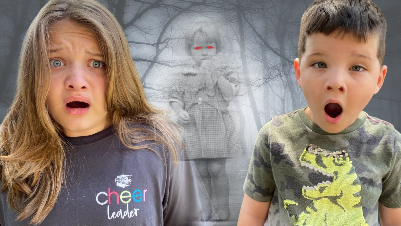 CALEB's BEST FRIEND is a GHOST! GHOST in OUR HAUNTED HOUSE! SOMETHING STRANGE is HAPPENING!