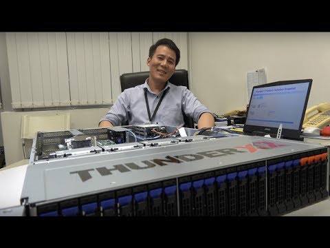 Gigabyte shows Cavium ThunderX2 ARM Server with AMD/Nvidia GPGPU for HPC