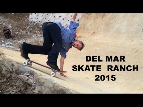 Tony Hawk skates Del Mar Skate Ranch  in 2015