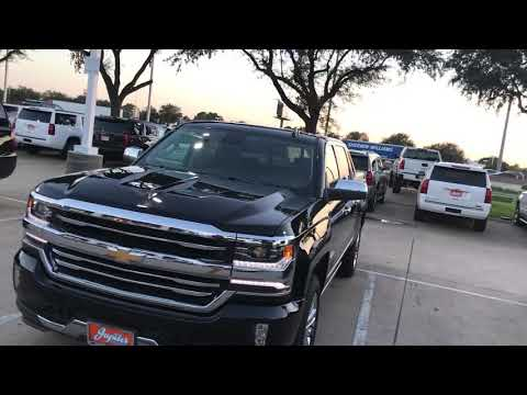 2017 Chevrolet Silverado High Country High Desert Package Jupiter Chevrolet  Garland Texas