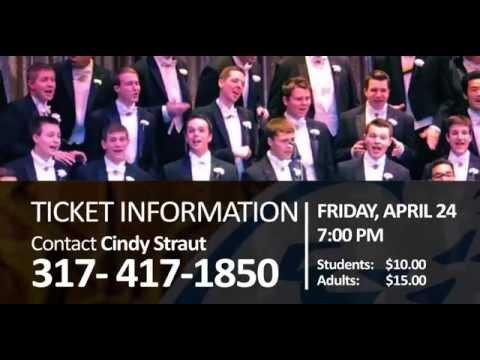 Purdue Varsity Glee Club Coming to Hamilton Southeastern High School