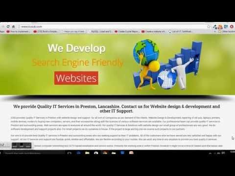 Website Design Company Preston, Lancashire