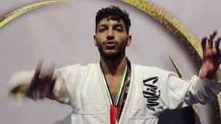 الإماراتي عبدالرحمن البرغوثي بطل العالم  في مهرجان أبوظبي للجوجيتسو