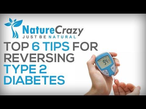 Nature Crazy's Top 6 Methods for Reversing Type 2 Diabetes