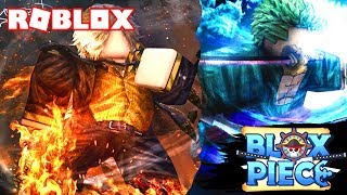 MY FIRST TIME on ROBLOX BLOX PIECE! 🔥