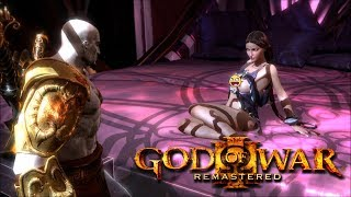 God of War 3 Remastered - Kratos Have Fun With Aphrodite Cutscene(1080p) PS4