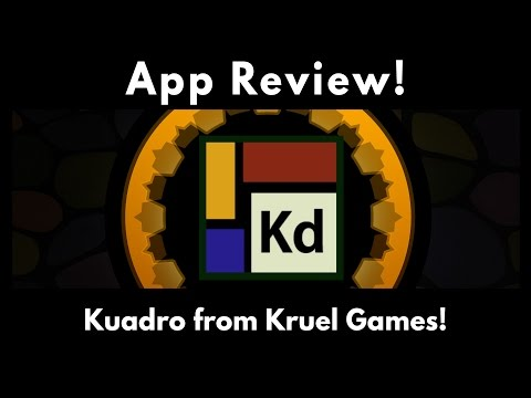 Application Review:  Kuadro from Kruel Games!