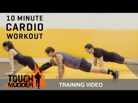 10 Minute At Home Cardio Workout - Ep. 12 | Tough Mudder