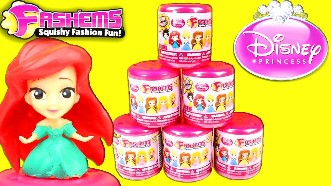 Disney Princess Fashems 6 Fash Ems Blind Bag Surprise