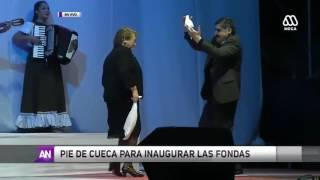 Presidenta Bachelet inaugura Fondas del Parque O'Higgins