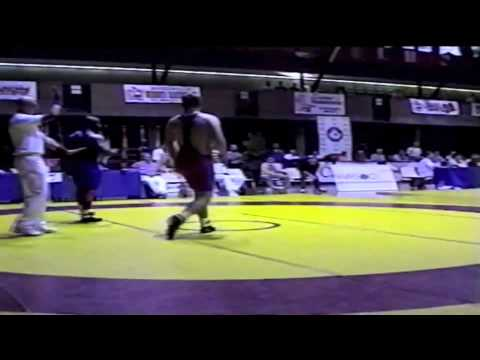 2000 Senior National Championships: 97 kg Jamie Cox vs. Owen Dawkins
