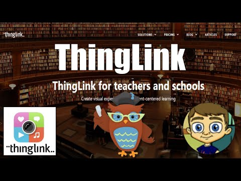 ThingLink 2017 Tutorial Make Interactive Images