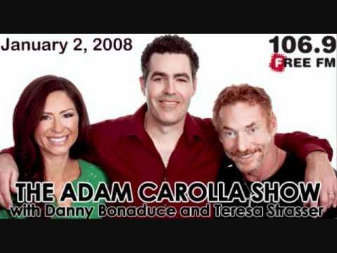 Adam Carolla discusses the departure of Danny Bonaduce from his CBS radio show