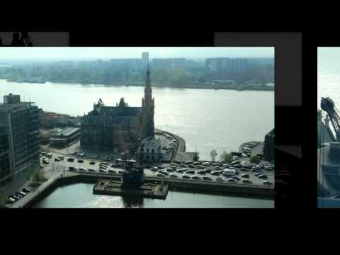 Antwerp Harbor area MAS museum and City Park