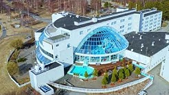 Aerial Oulu Nallikari Drone footage