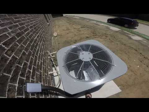 Brand New 2017 Carrier Central Air Conditioner, & some Goodman Central Air Conditioners!