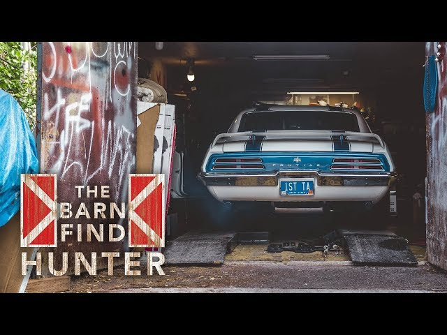 Jim Wangers' 1969 Trans Am Ram Air IV found in Alaska | Barn Find Hunter - Ep. 50