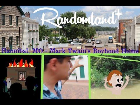 Inside Mark Twain's Home - Hannibal Missouri - Randomland!