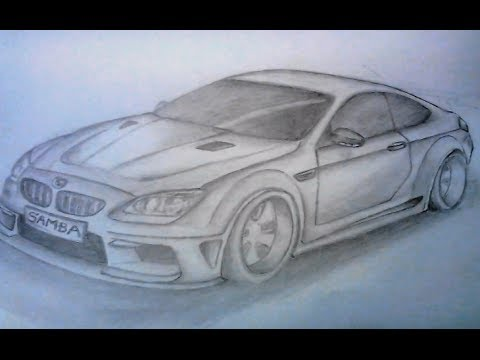 How To Draw A Car Bmw Youtube