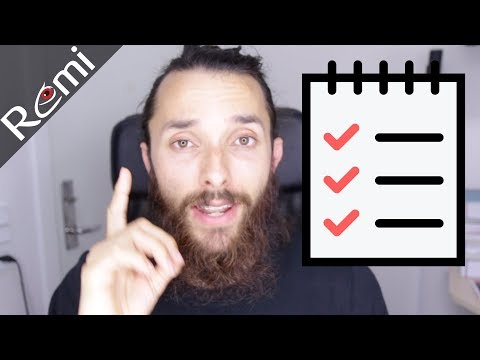 My Number 1 Productivity Tip - Get Faster Results | Rémi Tutorial