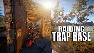 MAKING HACKER RAGE QUIT & RAIDING BANDIT TRAP BASE! (Rust)