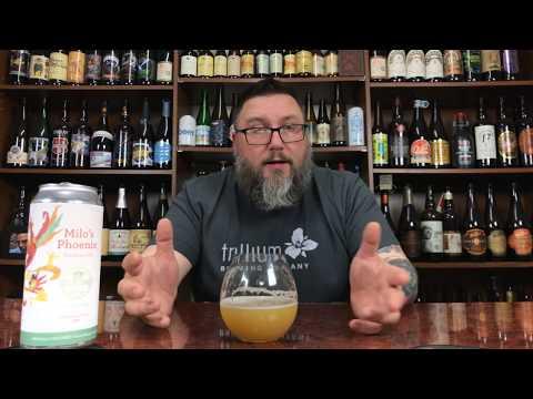 Massive Beer Reviews 1339 Tilted Barn Brewery Milo's Phoenix American IPA