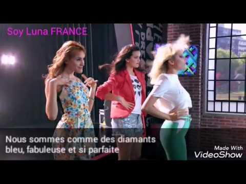 Soy Luna - Chicas así (Traduction française)