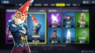 New Fortnite Item Shop GNOME SKIN (Grimbles Outfit) Fortnite Battle Royale !!