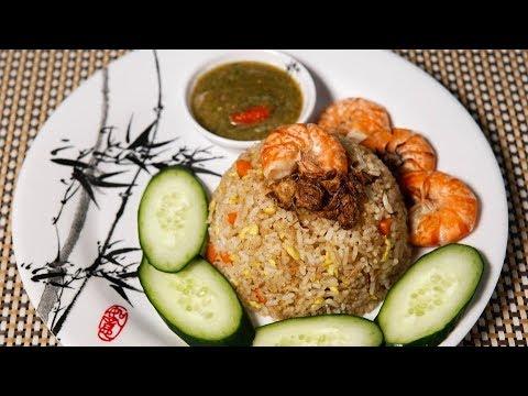 Resepi Nasi Goreng Cina Mudah - Chinese Fried Rice Recipe - YouTube