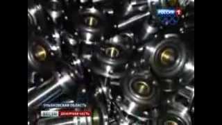 С Ульяновского автозавода украли 15 тонн запчастей