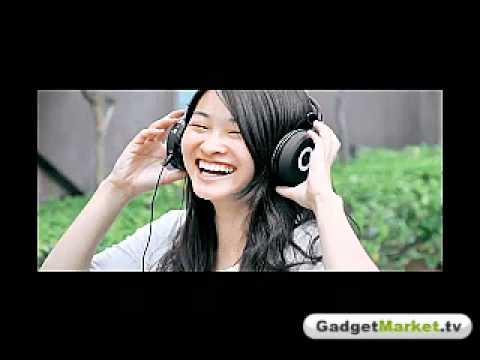 Folding MP3-player Headphones