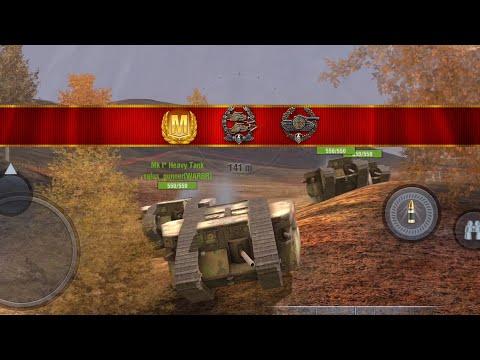 World of Tanks Blitz - Mk I aced