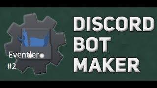 Basit Hoşgeldin Mesajı Eventi | Discord Bot Maker Basit Eventler #2