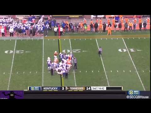 Josh Dobbs vs. Kentucky (2014)