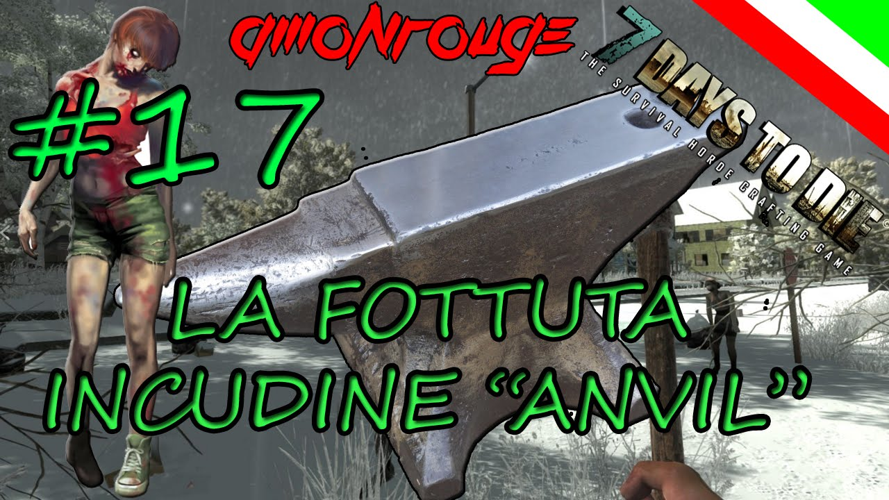 how to make an anvil in 7 days to die