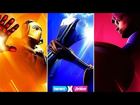 """""""Fortnite X Avengers"""" Gameplay Update - Avengers Fortnite (Fortnite New Update)"""