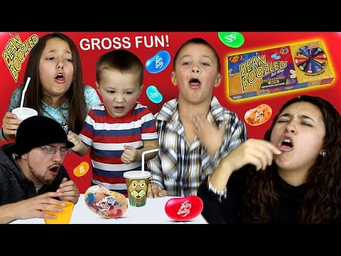 BEAN BOOZLED CHALLENGE! HILARIOUS JELLY BEANS GAME (FV Family!)