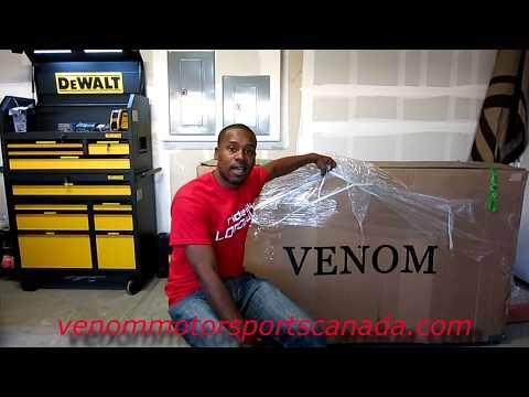 new-venom-2017-x22-125cc-super-pocket-bike-unboxing-setup-walk-around