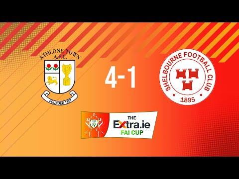 Extra.ie FAI Cup Quarter Final: Athlone Town 4-1 Shelbourne