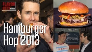 The Hamburger Hop 2013, Chicago Gourmet - Flavor City with Bobby