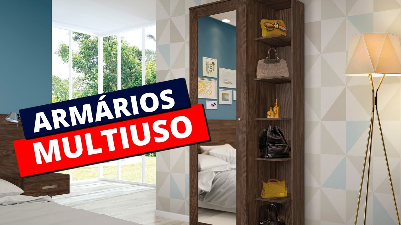 MODELOS DE ARMÁRIO MULTIUSO (com gavetas, com espelho, com chave...)