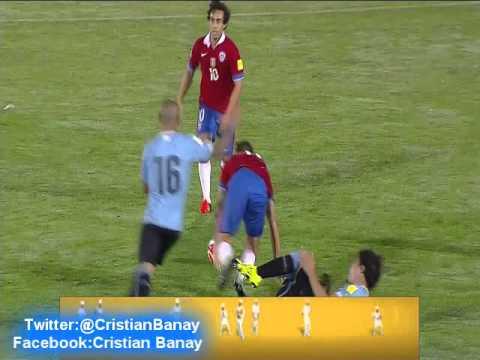 Uruguay 3 Chile 0 (Radio Cooperativa Chile)   Eliminatorias a Rusia 2018