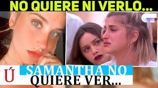 Lo que Samantha no quiere ni ver de Operación Triunfo