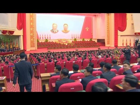 Inside The North Korean Worker S Party Congress Youtube