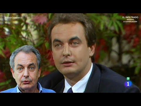 José Luis rodríguez Zapatero en 1989 | Viaje al centro de la tele